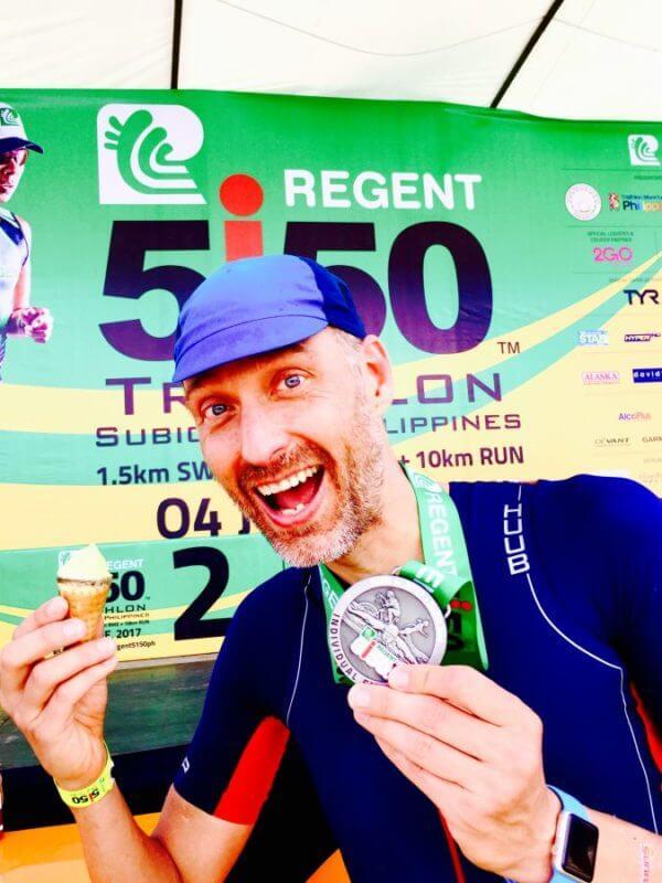 祝!準優勝「REGENT5i50 Triathlon Subic Bay」