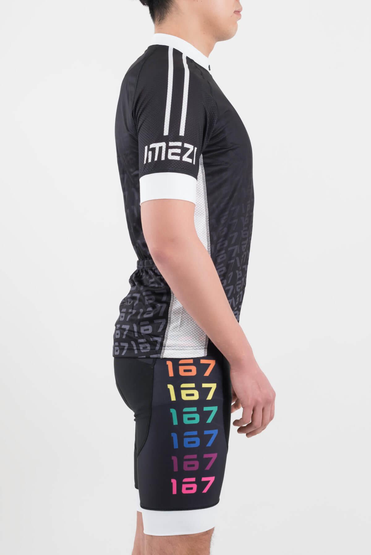 メンズサイクルウエア(imeZi)上下セット右側面