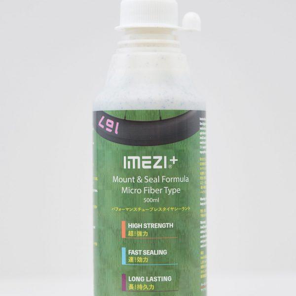 チューブレスタイヤシーラント のMicro Fiber Type, 濃くてマイクロファイバー入りのシーラント「IMEZI+」