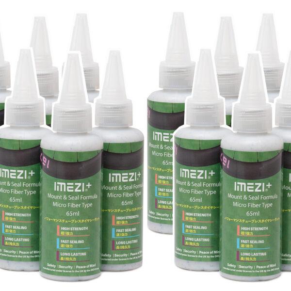 IMEZI+ Micro Fiberタイプシーラント65mlボトルの12本セット